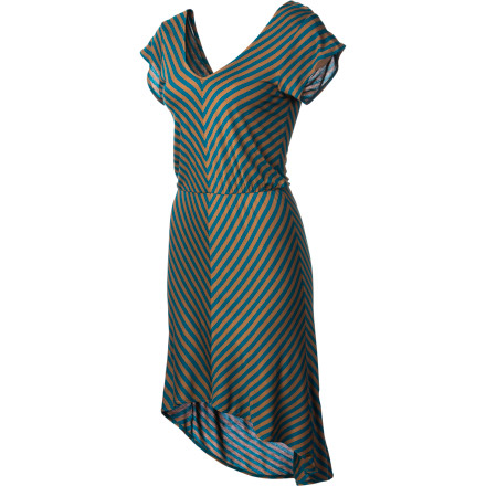 Entertainment The O'Neill Women's Jetty Dress makes getting dressed so easy that you'll almost feel like you're cheating. Don't worry about coordinating tops and bottomsslip this dress over your head and throw on a pair of boots. You'll look great, and you won't have to turn your closet inside out. - $37.36