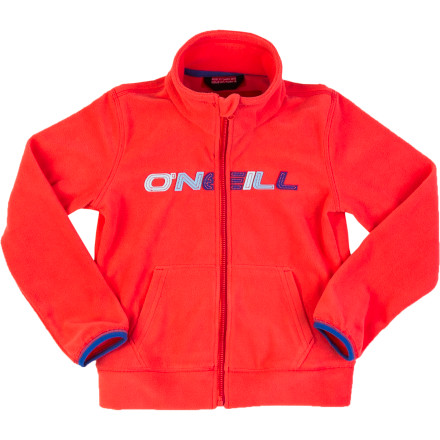 Surf As a mid-layer for riding the magic carpet on the bunny slopes or an outer layer for jumping in leaves on a cool autumn day, the O'Neill Toddler Girls' Ruby Fleece Jacket excels at keeping your little one cozy. She'll particularly like how the Ruby feels as soft as her favorite stuffed animal. - $13.98