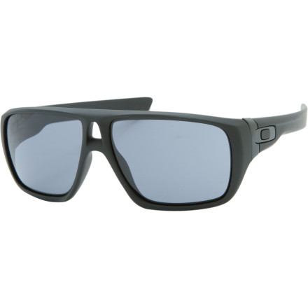 Entertainment Throw your own style into the mix with the Oakley Dispatch Sunglasses. The Dispatch features interchangeable icons, so you can switch em up depending on your mood, the weather, the alignment of the moon and Saturn, whatever. - $120.00