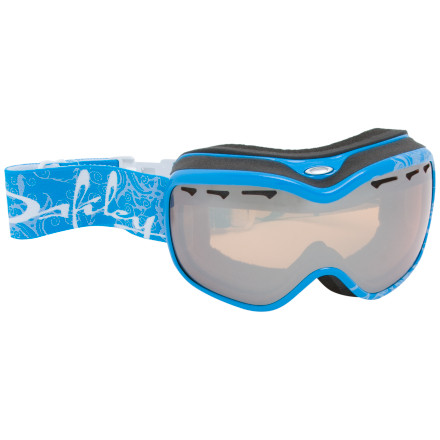Snowboard The Oakley Stockholm Goggle doesn't come with a bottle of Swedish vodka, nor does it smell like herring. Rather, this smoking hot ladies-specific goggle gives women the luscious fit they've been waiting for. Oakley sealed temperature-controlled air between two layers of anti-fog-treated polycarbonate lenses to reduce the chance of fog accumulating on your inner lens. Vented air circulates through the goggle to further reduce fog, and triple-layer foam with wicking fleece might make you think you're wearing a spa mask. Total UV protection, the Stockholm's excellent impact resistance, and a wide field of vision make this Oakley goggle an intelligent choice for your one-goggle quiver. - $55.00