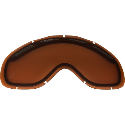 Ski Any skier or rider worth their weight in pow can tell you that different conditions require different optics. Pick up the Oakley Ambush Replacement Lenses and have an option for varying light conditions on the mountain. These Lexan lenses feature a dual vent and Oakleys F2 anti-fog coating to eliminate cloud-ups. - $45.00