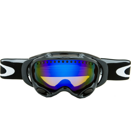 Ski The Oakley A Frame Polarized goggle is part of Oakley's first generation of polarized goggles. For bright days, these are the goggle of choice if you already appreciate polarized glasses. The A Frame is built to withstand long-range solar attacks and short-range meteorological events. Polarized lenses reduce glare from icy, shiny surfaces. Don't worry, you won't lose any of the A Frame's famous optical clarity or wide peripheral view. A triple layer of face foam insulates and provides maximum comfort. - $136.50