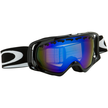 Ski The Oakley Crowbar Polarized Goggle goes where other polarized goggles dont by not only blocking glare and all UV rays but by using Oakleys HDO (High Definition Optics), some polarized goggles cut glare but leave you squinting at fuzzy, distorted features on the slopes. The Oakley Crowbar Polarized Goggle blocks glare and uses Oakleys HDO (High Definition Optics) to make sure you have a sharp view of everything. An extended lens size improves downward and peripheral vision like never before while the re-designed facial fit makes for a superb fit for practically every face - $220.00