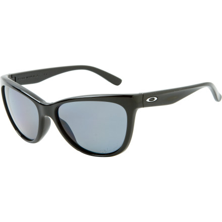 Entertainment The Oakley Womens Fringe Polarized Sunglasses make sure you dont have to navigate with squinting eyes while pedaling your cruiser through the streets. Instead, youll see glare-free images through the Fringes polarized Plutonite lenses, which also block out 100% of harmful UV rays and protect your eyes from the suns damaging radiation. - $160.00