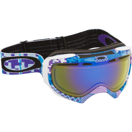 Snowboard The Elevate Goggle takes all of Oakley's technological expertise and hits it with a beam of size-reducing gamma rays. The result is supreme optical clarity, killer looks, and unbeatable comfort, custom-made for smaller faces. Distortion-free XYZ Optics keep every detail of the mountain in focus, while a frame design borrowed from the Splice eliminates pressure over the nose to keep you breathing free. - $66.00