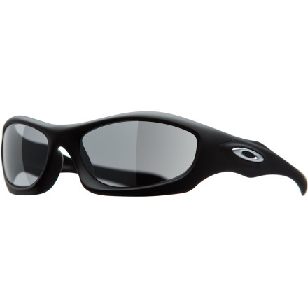 Entertainment Oakley's Monster Dog sunglasses are the largest jacket style sunglass Oakley makes. The Monster Dog offers excellent protection, comfort, and style with a thick O matter frame and true Oakley metal icons. Optical acuity remains full scale with a wide-screen peripheral view, so you'll always be able to see what's coming; and if it's a projectile, don't fretthese lenses can withstand a 12-gauge shotgun blast from 15 yards. Whew! At least your Oakley's will survive. - $98.00