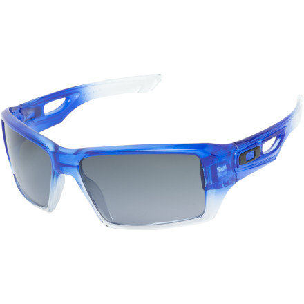 Entertainment The Oakley Eyepatch 2 Sunglasses dish up huge performance and even bigger style. The O Matter frame and Plutonite lenses provide long-lasting durability. Rock these eye-covers next time you hit the streets for a modern, innovative look that will protect your eyes. - $100.00