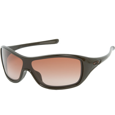Entertainment The Oakley Women's Ideal Sunglasses offers a quintessential combination of sophisticated style and sporty performance. Perfect for smaller faces, these shades provide all the protection you need, while knocking 'em dead with killer looks. - $130.00