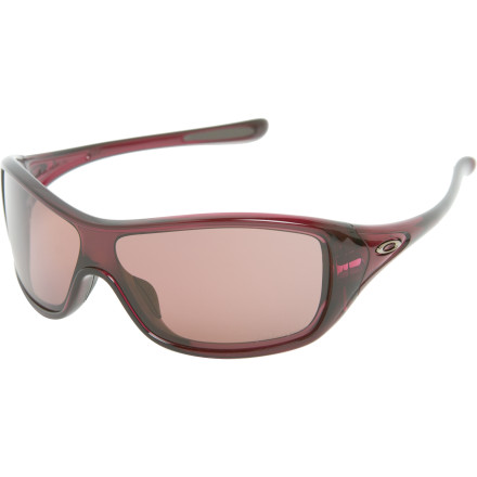Entertainment Whether you're on a 40-mile road ride or a four-hour shopping excursion, the Oakley Women's Ideal Polarized Sunglasses are just the ticket. Packed with performance features, these shades also boast a sleek, sporty style that refuses to be limited to your athletic adventures. - $150.00