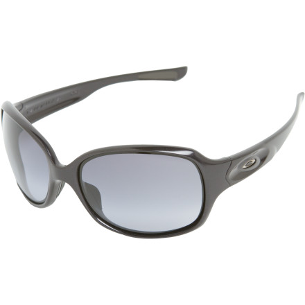 Entertainment From workouts to eating out, the Oakley Women's Drizzle Sunglasses pour on the style as they protect your peepers. The bold, rounded wrap-around lens keep the compliments pouring in, whether you're sweating up a storm on the trail or soaking up the sun at your favorite outdoor eatery. - $97.50