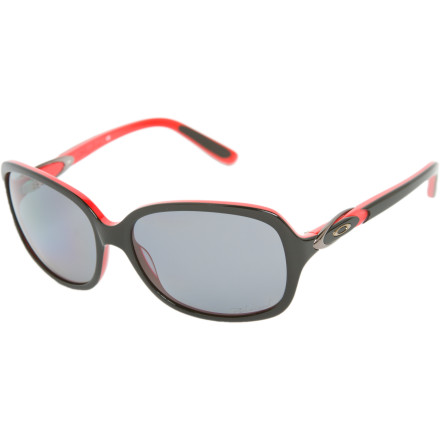 Entertainment Instead of dashing from one commitment to the next, take a day for yourself and enjoy a relaxed day seaside in the Oakley Women's Obligation Polarized Sunglasses. These sleek, feminine sunglasses with a classic design give you a purposeful, put-together look, even when you're just playing hooky. - $165.00