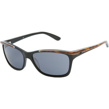 Entertainment That obnoxious waiter at your favorite outdoor cafe has overcharged you again, but you're not going to let it slide this time. Just slip on your Oakley Women's Confront Sunglasses and give him the business from behind the shelter of these hip, confidence-inspiring sunglasses. - $97.50