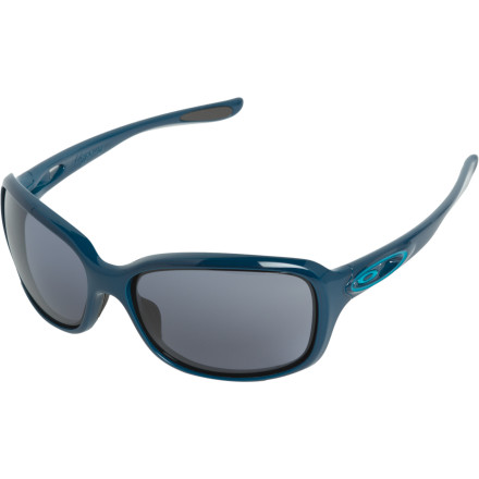 Entertainment Up your style without losing sport-worthy functionality when you don the Oakley Women's Urgency Sunglasses. Now your beach volleyball opponents won't just trip over their own feet due to your supersonic spikes or stunning good looks; it will be a combination of both. - $140.00