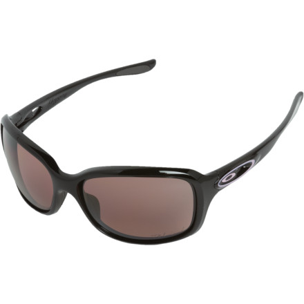 Entertainment Summer rides through the desert may be the most fun you can after the snow melts, but the polarized Oakley Women's Urgency Urgency Sunglasses reduce the glare and shade the rays, raising your fun-ness level through the roof. You can ride like a two-wheeled lady-demon thanks to this shade's wrap-around frame shape and the polarized lenses that block the UV rays and minimize glare. - $190.00