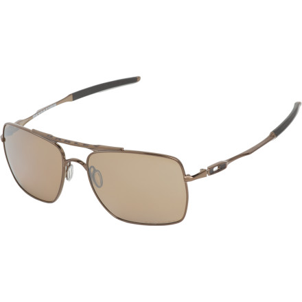 Entertainment Whether you fight gridlock traffic on land, head out on the water, or take to the skies, the aviator-influenced Oakley Deviation Polarized Sunglasses fight the glare, comfortably stay put, and do it all with undeniable panache. - $180.00