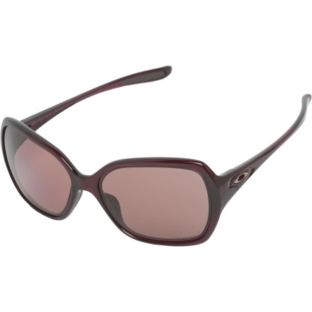 Entertainment The Oakley Women's Polarized Overtime Sunglasses prove that the athlete mindset doesn't have to exclude your sense of style. Nurture both the warrior spirit and the runway model with the sophisticated yet functional Overtime Sunglasses. - $180.00
