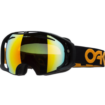 Ski The Oakley Factory Pilot Airbrake Goggle knows that changing lenses shouldn't be as difficult as solving a puzzle cube. That's why it features Switchlock technology, which won't leave you with frozen, fumbling digits as your friends ride off. Pair that with two-piece frame construction, scratch-resistant and fog-free lenses, and some limited-edition looks, and you've got yourself one stellar goggle there, Buckaroo. - $132.00