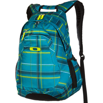 Camp and Hike Arrive in style every time with the Oakley Base Load Backpack XL. The Base Load is loaded with internal and external pockets to help you stay organized as you head from class to class, to the beach, and then to the after-party. - $45.00