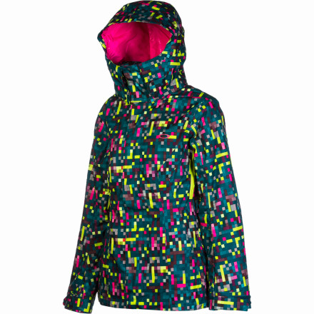 Snowboard It's winter. It's cold and snowy. You require warmth and weather protection, like the Oakley Women's Fit Insulated Jacket. Outfitted with all the on-slope essentials, this jackets oozes with Oakley style and fits like a snow-hog's dream. Eat it up. - $161.00