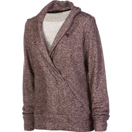 Whether it's icy cold outside or there's a bit of a nip in the air, count on the Oakley Women's Alpine Fleece Sweater to keep you snug, warm, and looking comfortable. - $48.00