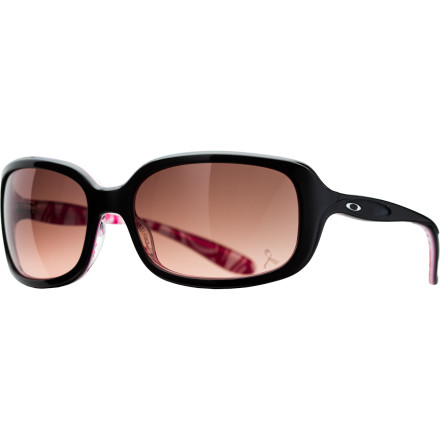 Entertainment The Oakley Women's YSC Disguise Sunglasses exceed your expectations and then some. With the purchase of each pair, Oakley gives $20 to the Young Survival Coalition, which is dedicated to critical issues affecting young women with breast cancer. So you can protect your peepers and feel good about making a difference. - $160.00