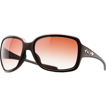 Entertainment Get the performance of sport shades in a sleek, stylish design with the Oakley Break Point Women's Sunglasses.The lightweight O Matter frame is stress-resistant to hold up to abuse and Unobtanium ear and nose pads ensure a no-slip fit that keeps your sunglasses securely in place whether you're getting active or just hanging out. - $130.00