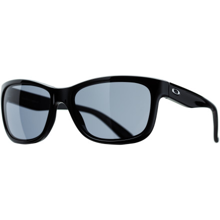 Entertainment The Oakley Forehand Women's Sunglasses are a perfect choice whether you're playing a match or having drinks courtside. Vintage '80s styling with a slightly sportier shape gives it a look that seamlessly blends fashion and function, and Plutonite lenses ensure you're always seeing clearly. - $120.00