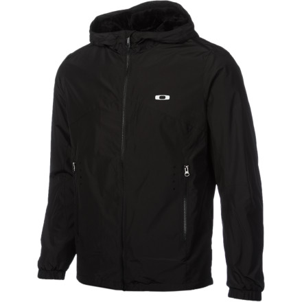 Cold temps might conquer your lightweight cotton hoody, but the Men's Can Do Jacket shrugs off the chill and a bit of light precipitation. A Sherpa lining makes the inside of this Oakley jacket warmer than your standard synthetic windbreaker, and the hooded design means that your head gets all the protection it needs too. - $75.00