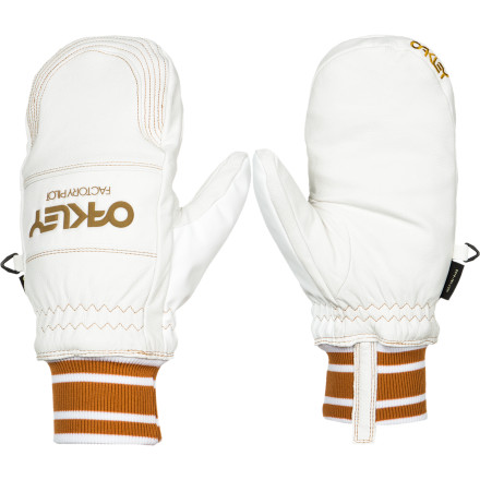 Entertainment Head out in the dead of winter with serious hand protection. While all your friends are losing their fingers to extreme cold and frostbite, your fingers will be tucked away safely in your Oakley Factory Winter Mittens. - $90.00