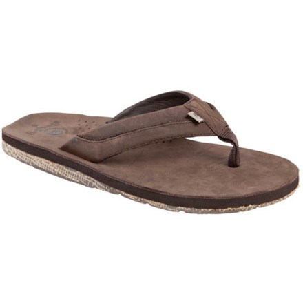 Surf You don't have to reside on the coast to wear the Ocean Minded Men's Locale Sandal. You just have to love helping Mother Nature. - $27.48
