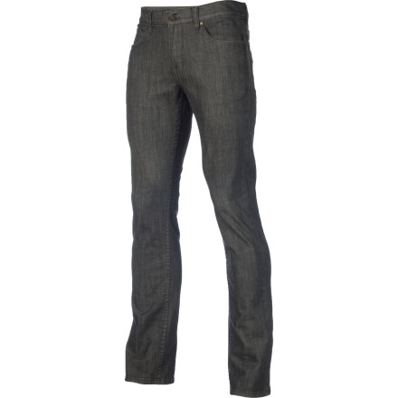 The Omit March Slim Denim Pant presents classy looks through striking washes on durable stretch denim that isn't afraid to get dirty. - $42.87