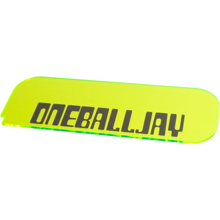 Snowboard If you've ever scraped wax, then you'll know that the rounded edges of the OneBallJay Seeker Plastic Scraper are a little more forgiving than sharp corners. If you haven't scraped, then it's time to start off with a good tool. - $6.34