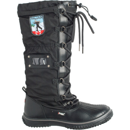 The Pajar Canada Women's Grip Boot combines waterproof construction with rugged looks and a tiny bit of downtown lace-up style. Slide into this warm boot for trips to the lodge and to the backcountry cabin. - $73.98