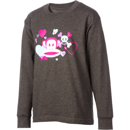 Layering up for the the winter with the Paul Frank Girls' Country Shred T-Shirt. - $12.32