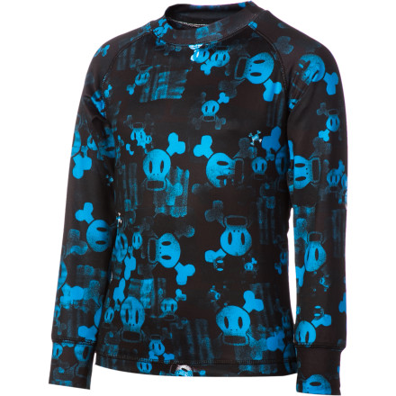 When your kid wears the Paul Frank Boys' Fade Base Layer Top, he gets a warm, soft, and cozy barrier between his hide and winter weather, and the classic Paul Frank style adds a little extra cool to his swag. - $23.97