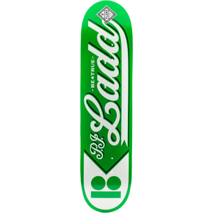 Skateboard Just because the Plan B National Skate Deck has an old-school baseball look to it doesn't mean you should go around hitting balls with it. - $46.76