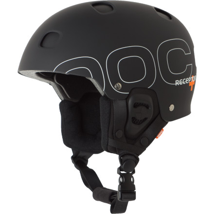 Skateboard Ditch your closet full of helmets for the POC Receptor+ Helmet. A versatile liner and shell construction gives you multiple impact protection for four seasons of hard charging. On water, concrete, or snow POC's double shell design and penetration-proof Aramid layering protects your head from big hits and sharp threats. A unique venting system allows air to circulate around the multi-purpose liner whether you're shredding powder, or dropping into a steep line on your eight-inch downhill bike. - $219.95