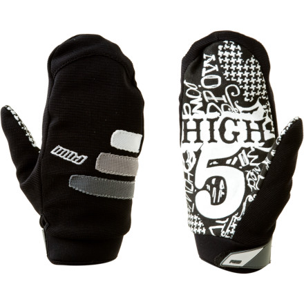 Celebrating the beginnings of the winter thaw requires epic high fives. Give them with the Pow Gloves High 5 Mitten. Thanks to a waterproof Clarino palm, your celebration wont end with you searching for paper towels and a fireplace. A breathable back ensures you stay regulated and sweat-free even when the hand-slapping has you at an all-time cardio high. - $23.97