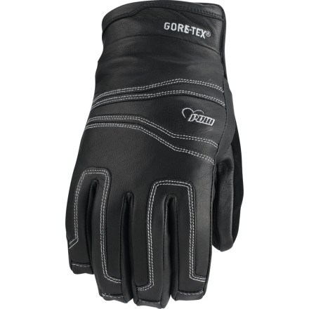 Your under-the-radar riding style is seriously stealth, considering how you only ride with people who can hang and who won't divulge your stash locations. The Pow Women's Stealth GTX Glove is the reliable ally in your CIA-style approach to shredding considering its seriously effective leather outer and low-profile design. - $59.97