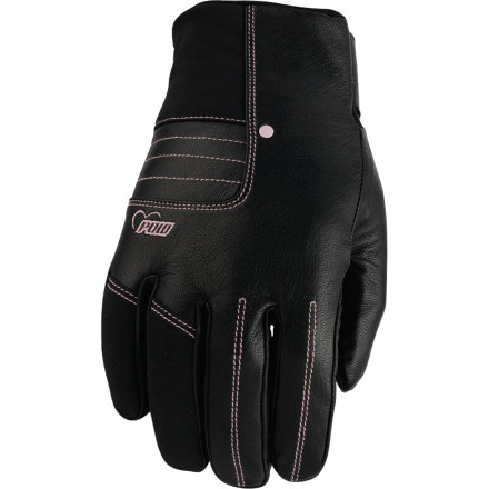 Just because winter bite is big it doesn't mean your glove has to be and the Pow Women's Chase Glove is a prime example of effective warmth in a low-profile design. High waterproofing, soft lining that controls your body's moisture, and insulation ensure your fingers survive cold temps while the slim design and great looks ensure your stylish look survives the conditions as well. - $35.97