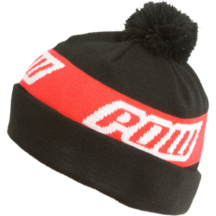 Throw the Pow Gloves Pride Beanie on your head, and get your board under your feet. This one-balled beauty will keep your head nice and toasty while you carve your way down the mountain. - $11.97