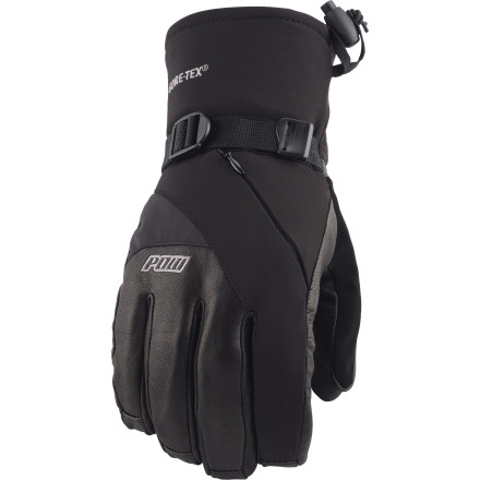 Snowboard The Assault Gore-Tex Glove from Pow is a technically styled and constructed first-line of defense in winter conditions. The premium leather and DWR-coated nylon shell is supple and durable while the Gore-Tex insert and Primaloft insulation are sure to keep you dry and warm. Features like the heater/vent pocket that enables you to stash some extra warmth on really cold days and the nose and goggle wipe that keep boogers at bay set the Assault apart as top-tier protection for your paws. - $65.97