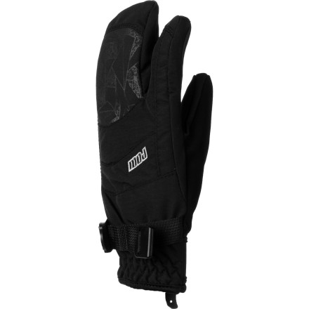 Mittens are warmer than gloves, but they pretty much just turn your hands into paddles. The POW Gloves Index Jr. Trigger Glove gives you the best of both worlds with warm hands that can still be used. A Hipora waterproof breathable insert keeps moisture from getting in and Thinsulate synthetic insulation keeps the warmth from getting out. - $39.95