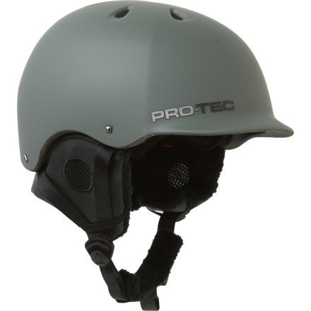 Ski When prorider Andreas Wiig destroys the competition the only thing hes missing is a pair of horns glued to the Pro-tec Riot Helmet. Hell just have to do with the Riots sweet visor, plush ear pads, and badass look. - $44.98