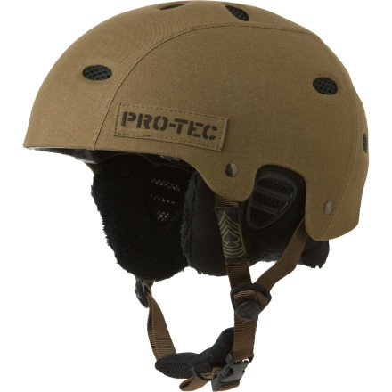 Skateboard Two-time Olympic medalist Danny Kass has definitely rung his bell more than a few times, so Pro-tec has equipped him with the low-profile B2 Snow Helmet to help shield his noggin against multiple impacts on the mountain. - $41.22