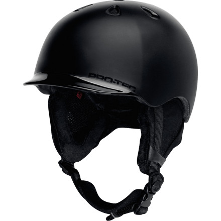 Ski If you're the type who likes to wear helmets without feeling like you're wearing a helmet, then you should check out the Pro-tec Riot Helmet. The Riot is so light you'll forget you're even wearing it. That is, until you catch an edge whipping through some aspens and live. - $76.97