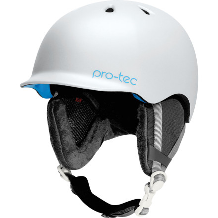 Snowboard One of the lightest certified helmets available, the low-profile Pro-tec Scandal Helmet will never, ever give you heavy-head. You know, that feeling that you're going to eat it while just standing in the lift line. No, this polished, perfectly balanced, and custom-fit bucket was born to rip. - $76.97