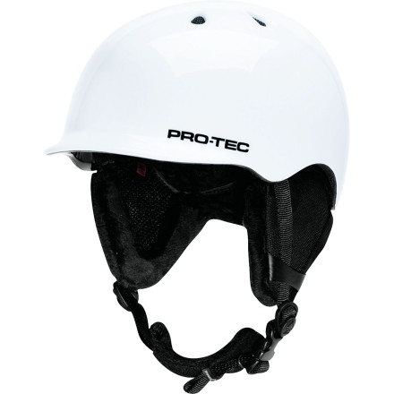 Snowboard Get lightweight protection for developing minds with the Pro-Tec Riot Helmet. You can be happy knowing that EPS foam is certified to protect against high-impact crashes, and your kid will be stoked on the lightweight, low-profile design that makes it feel like there's not even a helmet there. - $76.97