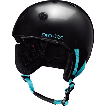 Snowboard Teach your young ripper appreciation for the classics with the Pro-tec Girls' Classic Snow Helmet. When she rides, skates, or bikes in this strong, comfy, and versatile beauty, she'll learn that the greatest is not always the latest. - $48.97
