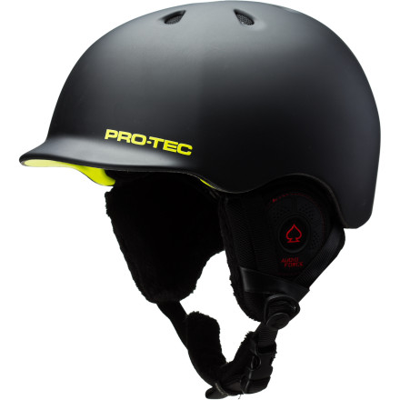 Snowboard The Pro-Tec Riot Boa Audio Helmet has it all: good looks, charm, a great sense of humor, and a built-in audio system with external volume controls that can be used easily, even with gloves on. Pro-Tec designed the Riot with more features and lighter weight than most other snow helmets on the market. - $104.97